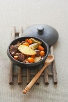 Baeckeoffe (meat and vegetables stew, Elsass, France)