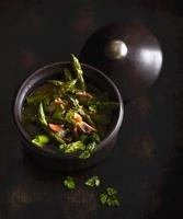 A green asparagus stew