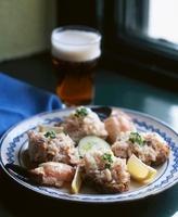 Bread with shrimp spread (Irish) 22199072441| 写真素材・ストックフォト・画像・イラスト素材|アマナイメージズ