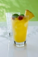Zombie (a cocktail made with rum and pineapple juice)