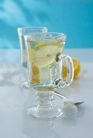 Hot Whisky Toddy (a hot drink made with Scotch and lemon)