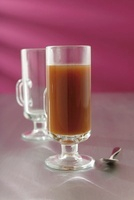 Hot Piper (a hot drink made with coffee, tequila and lemon j