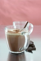 Chocolate Vice (cocoa with rum and bourbon)