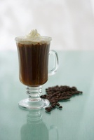 Calypso Coffee with rum and cream