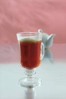 Amaretto Tea with cream
