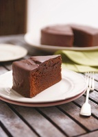 Mississippi mud cake (American chocolate cake)