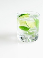 Mojito on a White Background