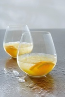 Screwdriver with vodka and orange juice