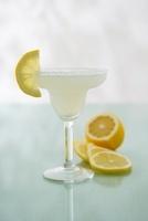 Margarita with lemon juice