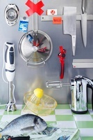 Various kitchen utensils and devices (mechanical and electri