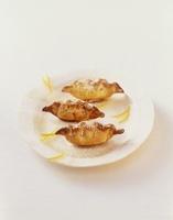 Kab El Ghazal (Moroccan almond cookies)