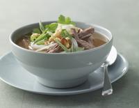 Beef soup with herbs (Vietnam)