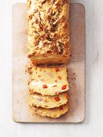 Sauerkraut cake with caraway seeds
