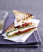 Tomato and mozzarella sandwiches 22199073787| 写真素材・ストックフォト・画像・イラスト素材|アマナイメージズ
