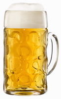 A litre of beer