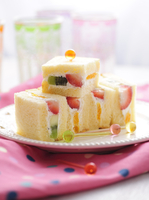 Fruit sandwiches for children