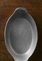 An old baking dish