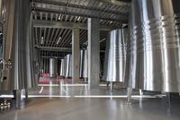 Stainless steel tanks: Bodegas Portia Gruppo Faustino, Riber