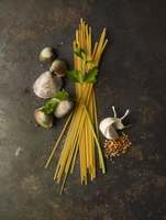 Ingredients for Linguini with Clams