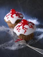 Eye muffins for Halloween
