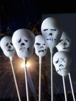 Cake pops for Halloween