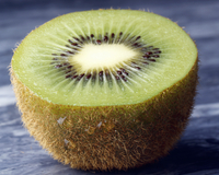Half of a Kiwi