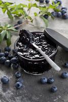 Blueberry jam 22199076980  写真素材・ストックフォト・画像・イラスト素材 アマナイメージズ