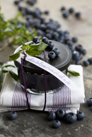 Blueberry jam as a gift