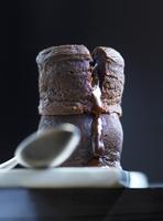 Mini chocolate lava cake
