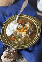 Cabbage Soup with Sour Cream