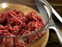 steak mince in a bowl