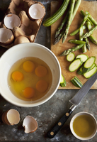 Frittata ingredients 22199079046| 写真素材・ストックフォト・画像・イラスト素材|アマナイメージズ