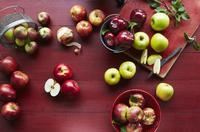 Still Life of Assorted Apples