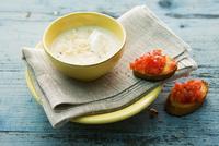 Sauerkraut soup with cr