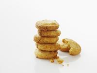 Savoury biscuits, stacked (Sweden)