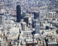 City of London from the air
