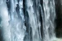 Close up of Victoria Falls, Zimbabwe