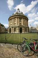 City of Oxford, England. The James Gibbs designed Radcliffe