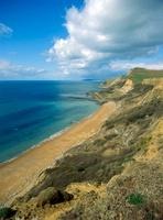 'The coastline where the Dorset Coast path meanders, Eypes M