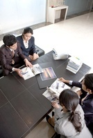 Businesspeople In The Meeting