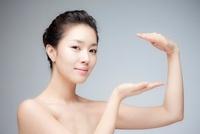 Topless Woman Posing