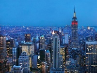 Empire State Building,Manhattan,New York,Usa
