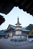 Seokgatap _ Sakyamuni Pagoda,Bulguksa Temple 22215002154| 写真素材・ストックフォト・画像・イラスト素材|アマナイメージズ