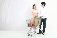 Happy Young Couple,Korean