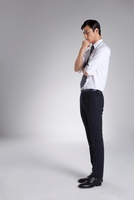 A young businessman,Korean