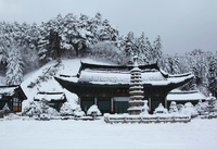 Stone Pagoda,Woljeongsa Temple,Mt.odaesan National Park