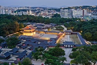 Injeongjeon,Changdeokgung palace,Seoul,Korea