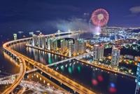 Fireworks,Gwangandaegyo Bridge,Haeundae-gu,Busan,Korea