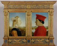 Portrait of the Duke and Duchess of Urbino