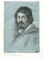 Portrait of Caravaggio/カラヴァッジョの肖像